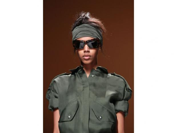 Even the most feminine female hipster is donning army clothing for jackets and boots.