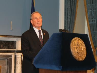 Mayor Michael Bloomberg is pledging huge money to make sure the elections go his way.