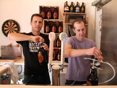 The Rockaway Brewing Company is opening its new growler room.