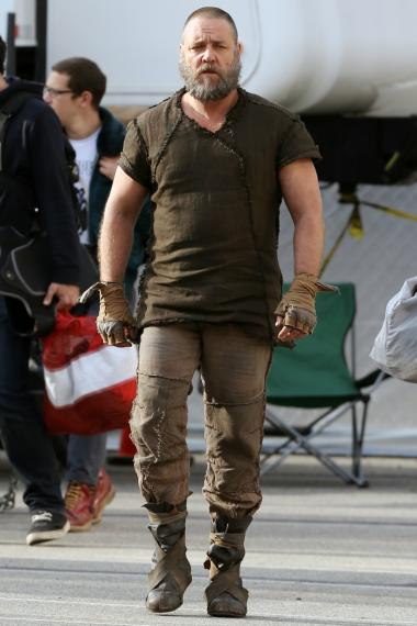 Russell Crowe and Jennifer Connelly filmed the biblical epic in Williamsburg on Wednesday, Oct. 17, 2012.