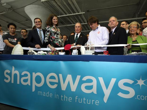 Shapeway, a 3-D printing factory, moved its facility from the Netherlands to Long Island City.