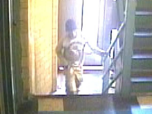 Police are looking for three ment they said mugged a man in a Long Island City apartment building on October 12, 2012.