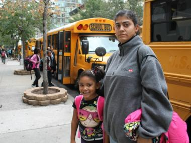 More than a dozen parents are having problems getting buses for their children to  American Sign Language and English Lower School  on East 23rd Street.