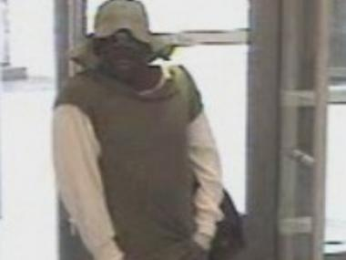 Police are looking for this man in connection with a Midtown bank robbery Oct. 31, 2012.