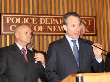 Attorney General Eric T. Schneiderman and Police Commissioner Raymond Kelly announced a 180-count indictment Tuesday.