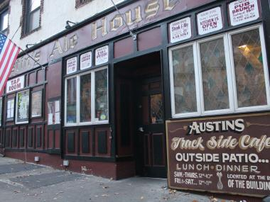 Austin's Steak and Ale House hosted a benefit party for Hurricane Sandy victims on Nov. 16.