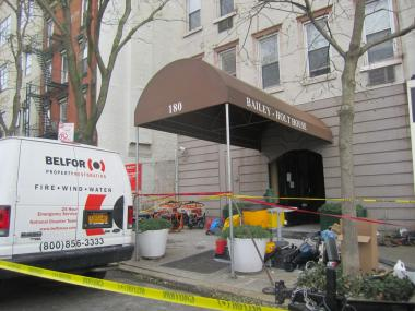 Hurricane Sandy did about $1 million in damage to the Bailey-Holt House, the Christopher Street supportive housing facility that is home to 44 formerly homeless people living with HIV and AIDS.