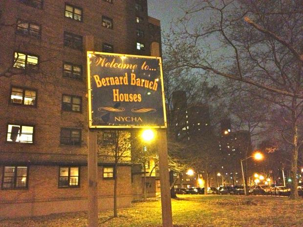 A 26-year-old man was stabbed in the Lower East Side's Baruch Houses, a public housing complex.