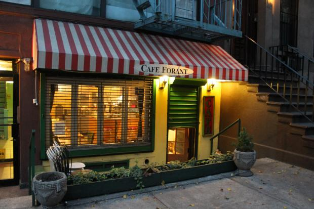 Cafe Forant will close in early 2013 after being shut down by Health Department inspectors.