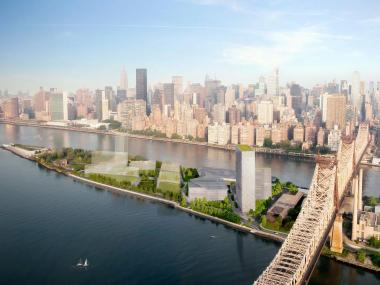 The construction of the Cornell NYC Tech university campus on Roosevelt Island may bring traffic and pollution to Astoria where the only bridge to the island is located.