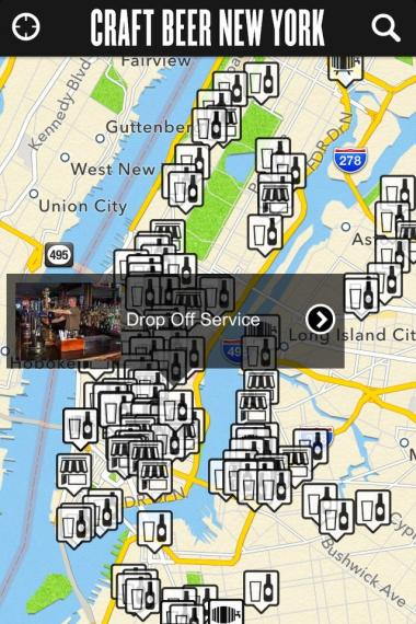 Craft Beer New York features a downloadable guide to over 120 bars around the city.