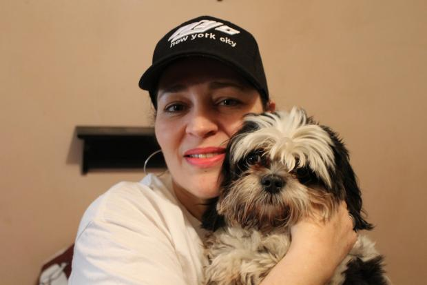 """Pet security consultant"" Angel Nieves helped a Chelsea woman find her stolen dog."
