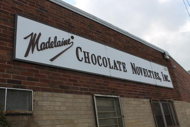 Madelaine Chocolate Company was wrecked by the hurricane, leaving 450 out of work.