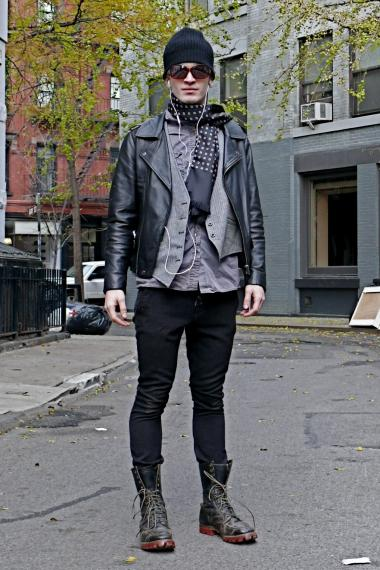 Men's Boots and Layered Looks Amp Up Fall Style - New York City ...