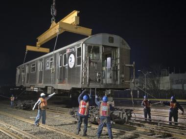 A defunct subway shuttle that once served the  Rockaways  is rising from the wreckage wrought by  Hurricane Sandy , replacing a section of the A line that remains too damaged to reopen,  Gov. Andrew Cuomo  announced Monday.
