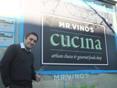 Supply delays and Hurricane Sandy have pushed back the opening of Mr. Vino's Cucina.