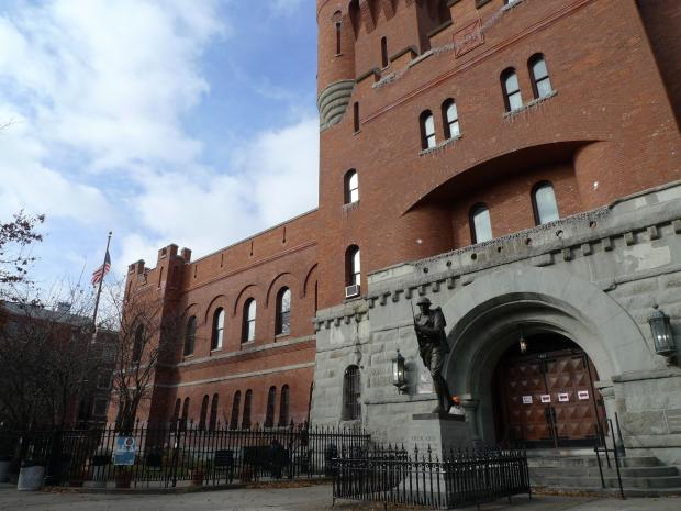 The Hurricane Sandy evacuees that were staying at the Park Slope Armory YMCA have left the building.   The last of the evacuees, many of them elderly people from senior homes in the Rockaways that suffered significant damage in the storm, left on Sunday, according to City Councilman Brad Lander.