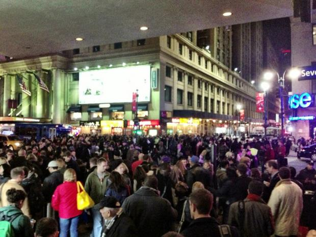 Penn Station closed down after signal problems stopped LIRR, Amtrak and NJ Transit trains, Nov. 21, 2012.