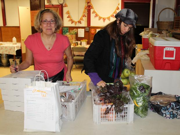 The buying club hopes to eventually become a food co-op.