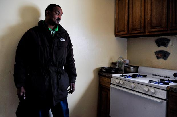 One low-income housing development sees a restoration of power, while another waits endlessly in the dark.