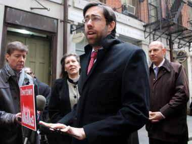 State Senators Daniel Squadron and Martin Dilan are leading a G train rally Sunday.