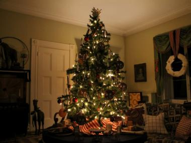Artists decorated eight rooms and Christmas trees at the Bartow-Pell Mansion Museum based on classic holiday children's stories.