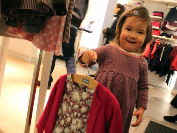 High fashion Upper East Side babies are runway ready with European styles.