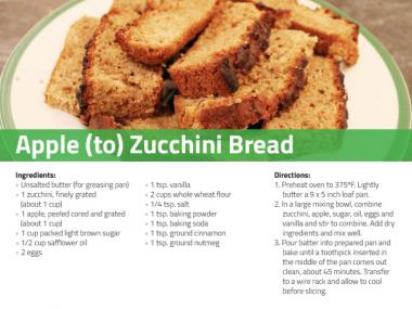 Apple To Zucchini Bread