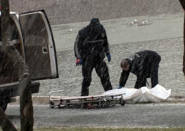 The body of a 63-year-old woman was found in Kissena Park, inside the lake, on Dec. 29, 2012.