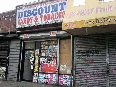 Someone threw a Molotov cocktail into a Bronx bodego on Laconia Avenue early Christmas morning.