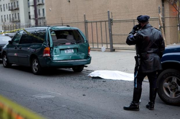 A 22-year-old from Pleasantville was killed Saturday when a Nissan Altima struck her and fled the scene in the Bronx.