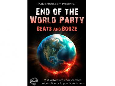 New Yorkers plan to meet the end of the world with a party.