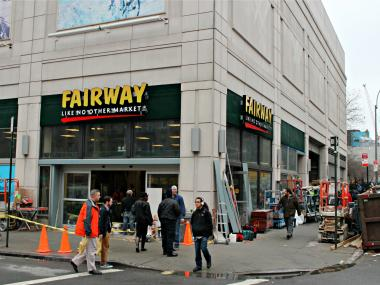 Fairway Market is expected to open on Second Avenue near East 30th Street on Friday, Dec. 21, 2012.