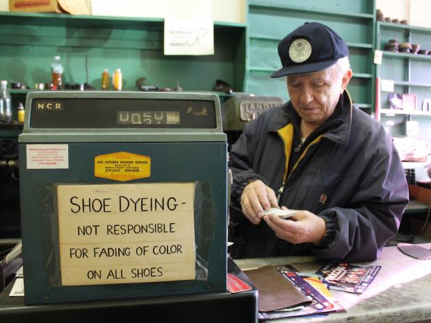 Falco's Shoe Repair on Steinway Street closed this week after nearly half a century in the neighborhood.