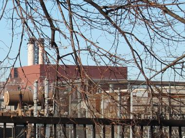 The now-defunct power plant, which the neighborhood fought for years, will be demolished in 2013.