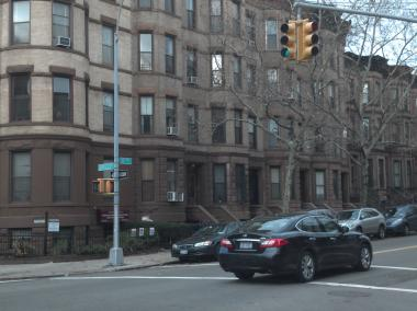 Sixth Avenue and Garfield Place in Park Slope.