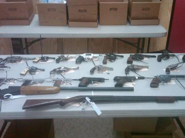 The Brooklyn Gun Buyout took place on Saturday, December 15.