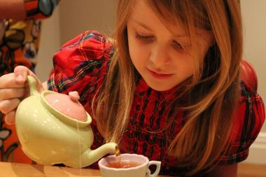 Create your own tea party, from creative crowns to healthy treats.