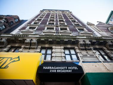 The SRO called the Narragansett Hotel, where a fire on December 30 sent one woman to the hospital in serious condition, fire officials said.