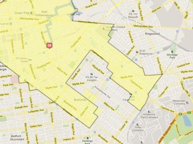 The Districting Commission voted to revoke controversial new City Council district lines, Dec. 4, 2012.