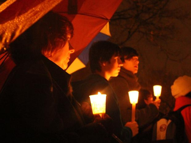 Several vigils have been held for Newtown, Conn. shooting victims. Residents says gun violence must end.