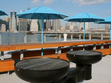 December 13, 2012 - Pier 5 opens in Brooklyn Bridge Park.