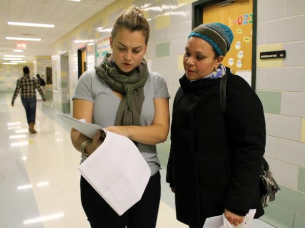 Project STEP, a program run by the nonprofit WHEDco, helps students and families at P.S./I.S. 218 in The Bronx navigate the high school admissions process.