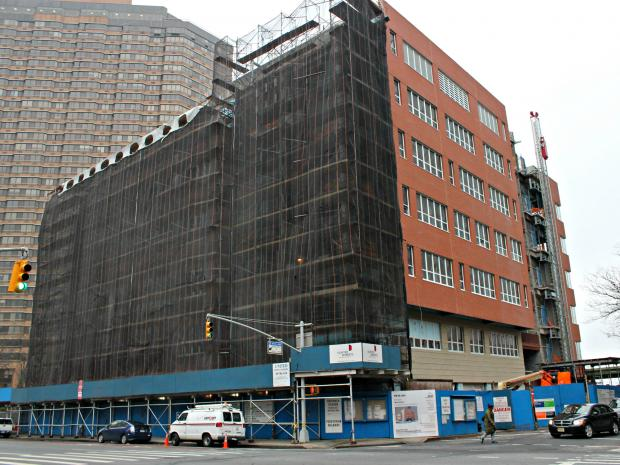 The school is currently being built on First Avenue and East 35th Street.