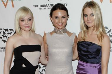 Georgina Bloomberg and company atteneded the gala event.