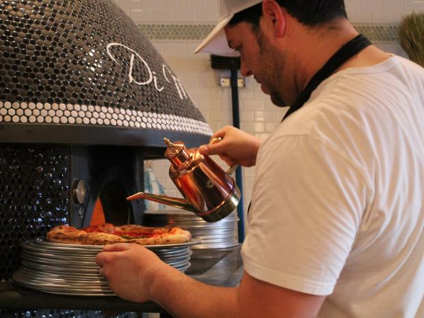 Tufino opened this week at 36-08 Ditmars Blvd., serving Neapolitan-style pizza.