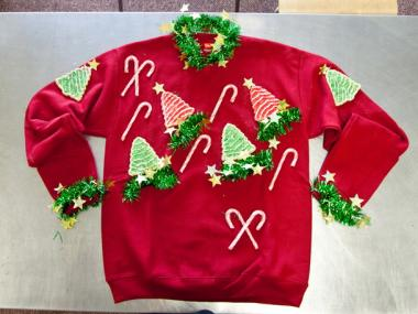The 2nd annual Ugly Sweater Cabaret is teaming up with New York Cares coat drive at the Duplex Theater on Monday.