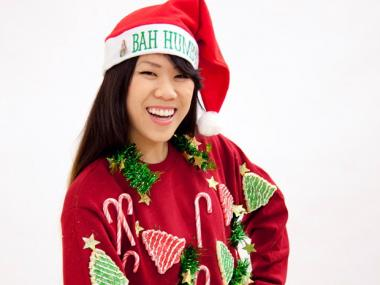 Some stores have begun manufacturing their own ugly Chistmas sweaters and buying them year-round.