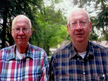 Twins John and Joe Gindele, 68, recently released a memoir about growing up in Yorkville in the 1940s and 1950s.