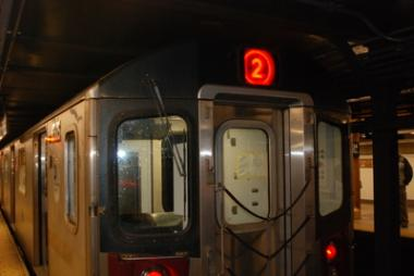 Service on the 2 and 5 lines between 149th Street and 180th Street was suspended in both directions.